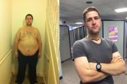 PICTURED: Dying friend's last wish inspires Orpington man to shed 146lbs