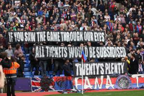 Crystal Palace: Football club owners must listen when fans protest over ticket prices, says Pardew