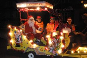 Sidcup's Santa goes hi-tech - when Christmas tour of the town begins today