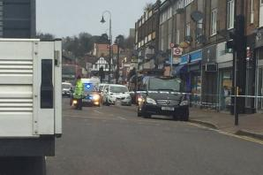 Woman taken to hospital after being hit by taxi in Crayford