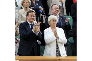 David Cameron's mother signs anti-cuts petition
