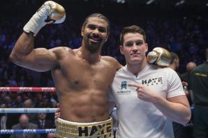 Boxer David Haye opens up about his vegan diet, training in south London and boxing at the O2