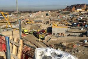 UPDATE: Man taken to hospital after falling off scaffolding at Dartford construction site