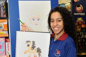 Draw-some: 'Talented' toy store assistant to teach kids cartoon doodles in Bexleyheath