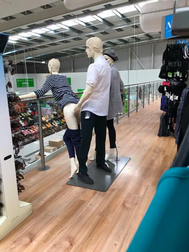 Bilderesultat for naughty mannequins